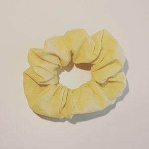 CHOUCHOU en coton jaune pastel