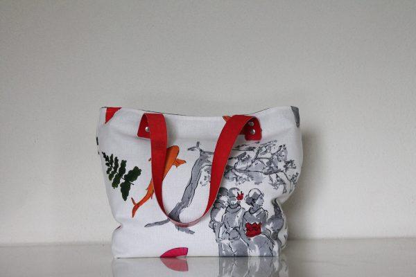 Sac SAUSALITO motifs japonais